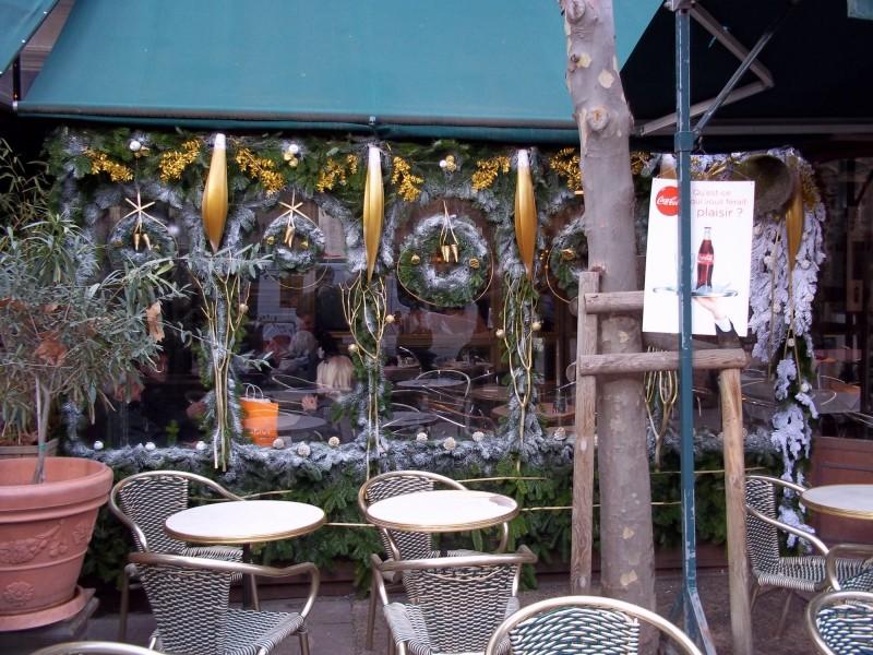 Terrasse de café à Aix-en-Provence France avec les