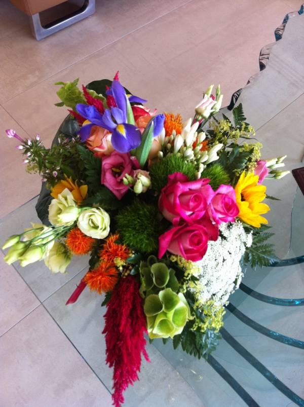 Decoration florale buffet traiteur centre de table avignon for Decoration florale centre de table