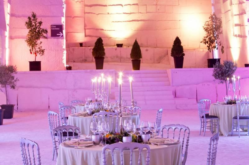 D coration florale de centre de table pour repas et soir e for Decoration florale centre de table