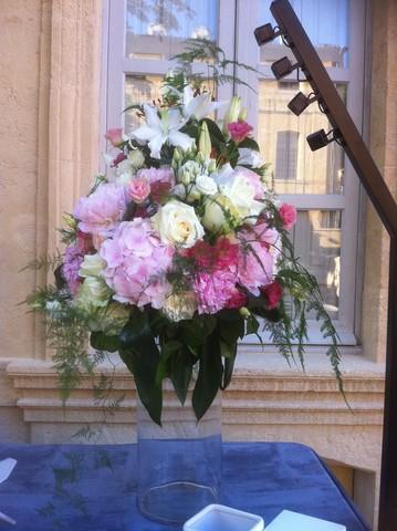 D coration florale de fleurs pour buffet traiteur et - Decoration florale centre de table ...