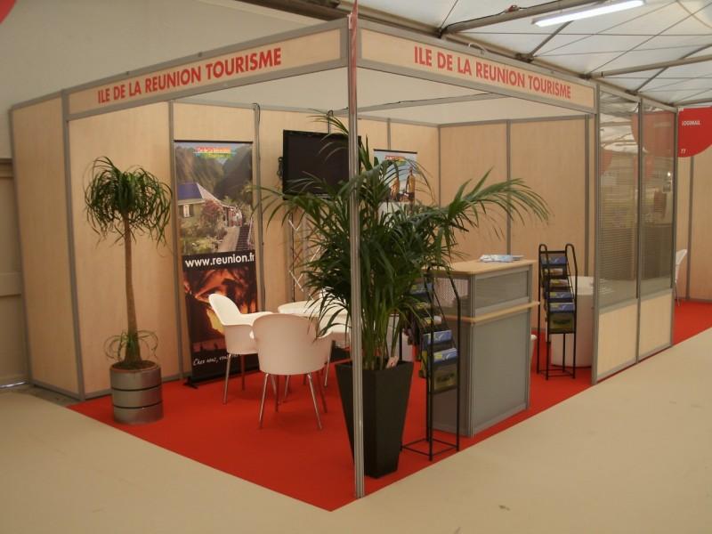 Location de plantes et bacs d coratifs pour v nements for Stand pour foire expo