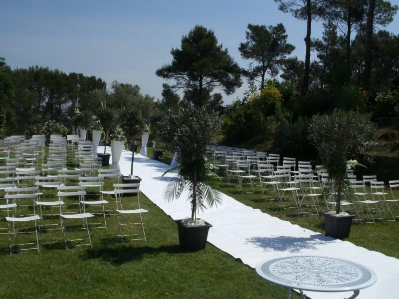 Allee nuptiale mariage aix marseille aubagne salon de provence regionpaca d coration florale - Marseille salon de provence ...