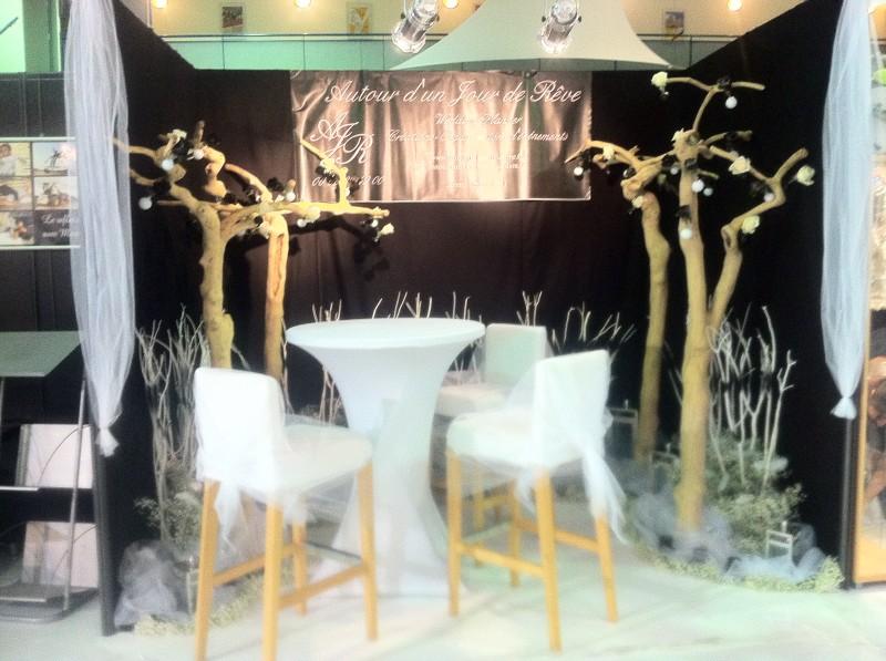 Favori Décor de scène à thème pour stand exposition salon Aubagne  PZ51