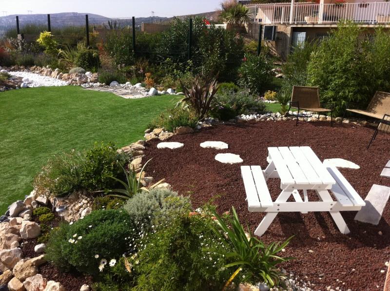 Stunning salon decoration jardin aix provence pictures - Mobilier de jardin en palette aixen provence ...