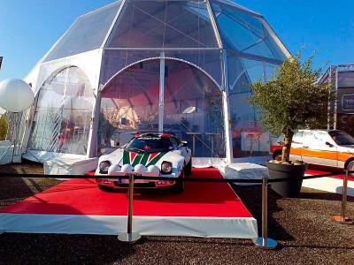 olivier en location pour exposition automobile