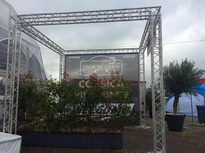 location de jardinière et bac de plante pour écran