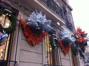 Noel sapin guirlande decoration de fetes de noel et mise en lumi re pour faca - Magasin deco noel paris ...