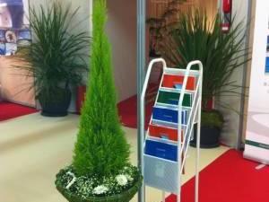 Location de décoration florale pour stand exposition sur Avignon