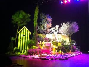 Décor de scène pour lancement de produits Aix en provence