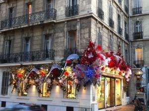 noel décor de façade en location Marseille