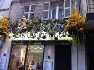 façade et vitrine décoration noël Marseille
