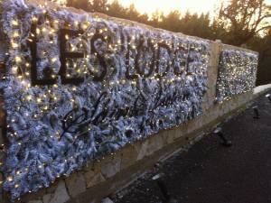 Décoration de Façade de Noël pour hôtel restaurant Marseille, Aix en Provence