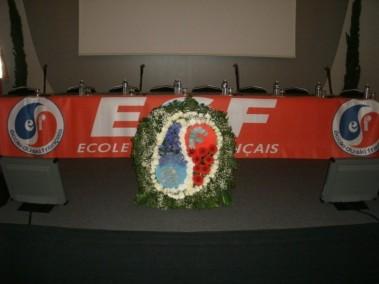 Location de composition florale pour scène exposition podium sur Aix en provence