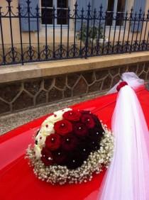 prestige de fleur de mariage pour votre voiture